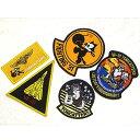 玩具, 興趣, 遊戲 - 米軍 VF-31 ワッペン刺繍レプリカ 5枚セット