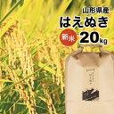 はえぬき 20kg(10kg×2袋) 新米 山形県 令和元年産 精白米