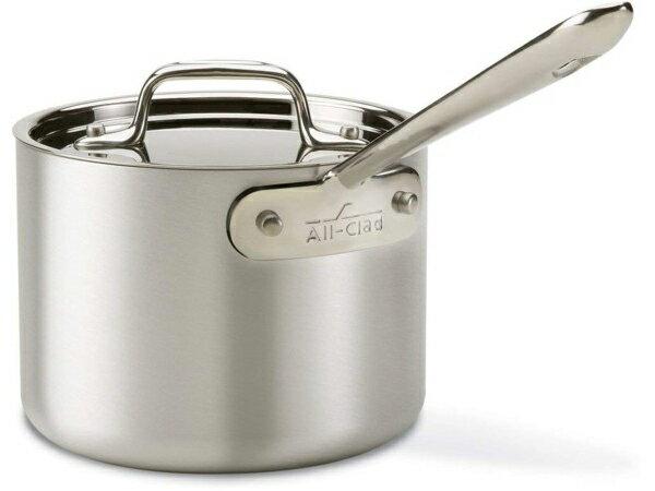 All-Clad オールクラッド 1.9リットル・ソースパン片手鍋 Master Chef-2 シリーズ