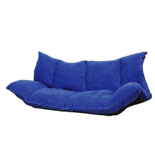 カジュアルソファ「プチリーノ」(ブルー) お好みの形でくつろげる快適なソファです。
