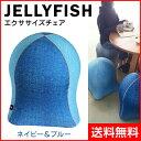 【SPICE/スパイス】 ジェリーフィッシュ エクササイズチェア ネイビー&ブルー WKC103NB