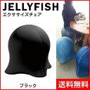 【SPICE/スパイス】 ジェリーフィッシュ エクササイズチェア ブラック WKC102BK