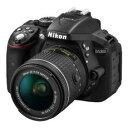 【Nikon/ニコン】デジタル一眼レフカメラ D5300 デジタル一眼カメラ D5300 AF-P 18-55 VR レンズキット ブラック