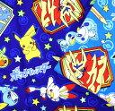廃盤 2020年新柄! POCKET MONSTERS「ソード シールド」 ポケットモンスター/ポケモン/生地/布/入園入学/入園グッズ/ピカチュー