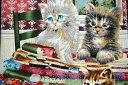 猫好き集まれ!USAコットン USA SPX FABRIC「Picture cat」/猫/猫柄/ネコ/生地/布/綿/輸入生地