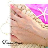 Enasoluna(エナソルーナ) Cross on the skin bracelet 予約【BS-943】 ブレスレット クロス シルバー スキン