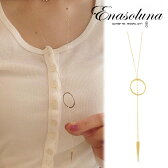 Enasoluna(エナソルーナ)Arrow necklace 【NK-1108】