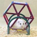 トイビルダー6032/おもちゃ ブロック 組立て プレート 遊び場 トンネル お家 ハウス 回し車 ホイール 小動物 ハムスター ジャンガリアン ゴールデン