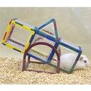 トイビルダー 6034/おもちゃ ブロック 組立て プレート 遊び場 トンネル お家 ハウス シーソー 小動物 ハムスター ジャンガリアン ゴールデン