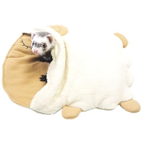 レインボー ひつじで寝ぶくろ/フェレット 寝床 Rainbow 寝袋