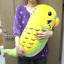 セキセイインコXL/抱きまくらになる ぬいぐるみ 小鳥 TST