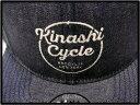 DENIM【KINASHI CYCLE [木梨サイクル] BROOKLYN NEW YORK snapback Cap ニューヨーク・ブルックリン デニムキャップ ISETAN 伊勢丹新宿店限定 木梨憲武】