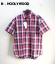 38 【N.HOOLYWOOD ミスターハリウッド チェックシャツ】NHD13S-029【新品】
