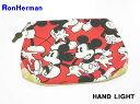 ショッピングミッキー 【Ron Herman [ロンハーマン] ミッキー クラッチバッグ ポーチ HAND LIGHT】【中古】