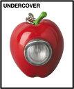 RED【UNDERCOVER GILAPPLE LIGHT KEYCHAIN アンダーカバー ギラップル ライト キーチェーン MEDICOM TOY メディコムトイ】