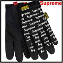 M 黒 BLACK 17ss【Supreme / Mechanix original work Gloves シュプリーム メカニクス オリ...