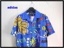 O【adidas Pharrell Williams Artist Shirt MULTI アディダス ファレル ウイリアムス シャツ アロ...