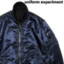 3 NAVY【uniform experiment REVERSIBLE MA-1 UE-192020 ユニフォームエクスペリメント リバーシブル MA1ジャケット SOPHNET.】