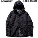 L BLACK【SOPHNET. PADDED MOUNTAIN PARKA SOPH-192067 ソフネット マウンテンパーカー フードジャケット】