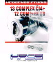 HEDGEHOG STUDIO(ヘッジホッグスタジオ) 13コンプレックスCI4+・12コンプレックスBB用 ラインローラー2BB仕様チューニングキット Ver.2 (2012〜2013年モデル対応) 【HRCB防錆ベアリング】 *