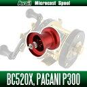 五十鈴(イスズ) BC520X・メガバス パガーニP300用 Avail マイクロキャストスプール BC5252R レッド *