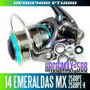 HEDGEHOG STUDIO(ヘッジホッグスタジオ) 14エメラルダスMX 2508PE,2508PE-H用 MAX11BB フルベアリングチューニングキット 【HRCB防錆ベアリング】