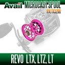 Avail(アベイル) 【Abu/アブ】 Revo・レボ LTX・LTZ・LT用 軽量浅溝スプール Avail Microcast Spool RVLTX32RR (溝深さ3.2mm) ピンク *