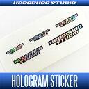 HEDGEHOG STUDIO(ヘッジホッグスタジオ) HEDGEHOG STUDIO ホログラムステッカー *