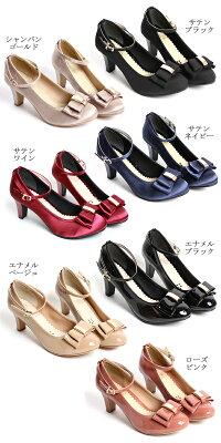 9df66c6414f5d あす楽 春 結婚式 入学式 発表会 パンプス 痛くない 靴 パーティー ...