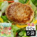 (55)お肉を使わない畑生まれのハンバーグ 蒟蒻と大豆でつくった サラダバーグ 90g×5袋 常温 代替肉 大豆ミート フェイクミート ソイミート
