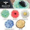 フェルトにお花やクローバーのプリントが施されたマルチパッド マウスパッド かわいい おしゃれ 雑貨 花柄 フラワー …