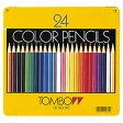 【メール便対応/1個まで】トンボ鉛筆 缶入色鉛筆 24色 CB-NQ24C 【02P20Nov15】