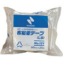 【メール便不可】ニチバン 布粘着テープ(中軽量物封かん用)No.121(50mm×25m) 121-50