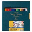【メール便不可】サクラクレパス 水彩色鉛筆24色 EPY24