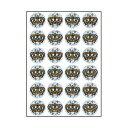 【メール便対応】オキナ パリオシール 王冠シール(ホログラムシール) 48片入 PS1435