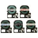 【メール便対応】キングジム テプラPROテープカートリッジ 透明ラベル 12mm幅 ST12
