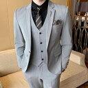 スーツ メンズ おしゃれ ビジネス セットアップ フォーマル カジュアル 8334