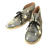 Clarks クラークス Desert Boot デザートブーツ White/Black
