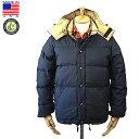 Crescent Down Works【クレセントダウンワークス】Down Sweater ダウン セーター 60/40 Cloth Navy x Khaki アメリカ製