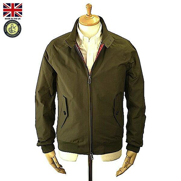 Baracuta バラクータ Men's G9 Modern Classic Military Green メンズ G9 モダン クラシック ミリタリーグリーン スイングトップ 英国製 2016年 秋冬入荷商品