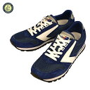 BROOKS ブルックス Chariot Navy Blue...