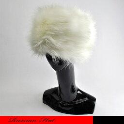 高級なフェイクファー素材のロシアン帽です。天ハフラットですがトップへは丸みをおびてフェミにンなデザインです。☆ロシア帽/ロシアンハット/フェイクファー/ファーハット/防寒帽/