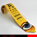 珍しい視力検査表とビッグアイをデザインのネクタイです。【メール便可3】☆視力検査/目/アイ/ジョークタイ/パロディータイ/アートタイ/