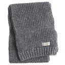 ショッピングホリスター 【並行輸入品】【メール便送料無料】ホリスター メンズ マフラー Hollister Knit Scarf (ダークグレー) 【 スカーフ 】