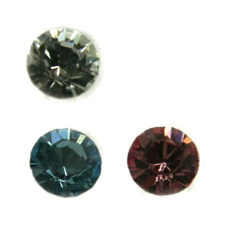 ( ◆ not a pair ) resin post earrings 5 mm stone Y54-(it is not a single pair) ▼ with over 2100 Yen down: fs3gm