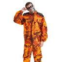 ショッピング屋外 ★新品★屋外 バイオニックオレンジ 迷彩服 スーツ 戦術 軍事服 ジャケット ズボン スーツ