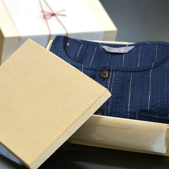 """-""""Special order"""" birthday, Jinbei, じんべい, gift, gifts, men and cotton linen material, Shiji et weave Henry neck type hemp Jinbei and mens gifts gifts"""