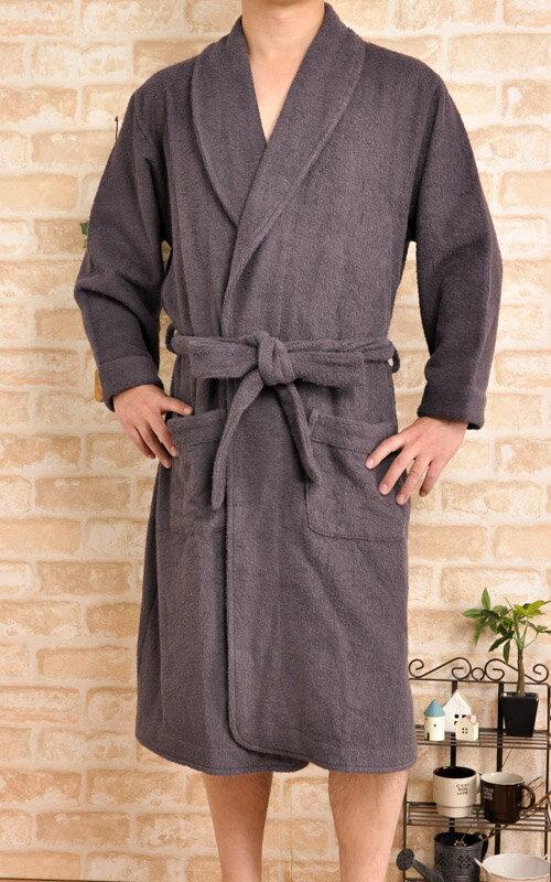 【送料無料】男女兼用タオル地バスローブ【父の日】【ギフト】【ガウン】