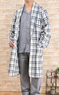 暖羊毛簽睡袍男裝
