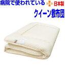 病院で使われている/敷布団 クイーンサイズ抗 アレルギー対策日本製 国産 抗菌 防ダ